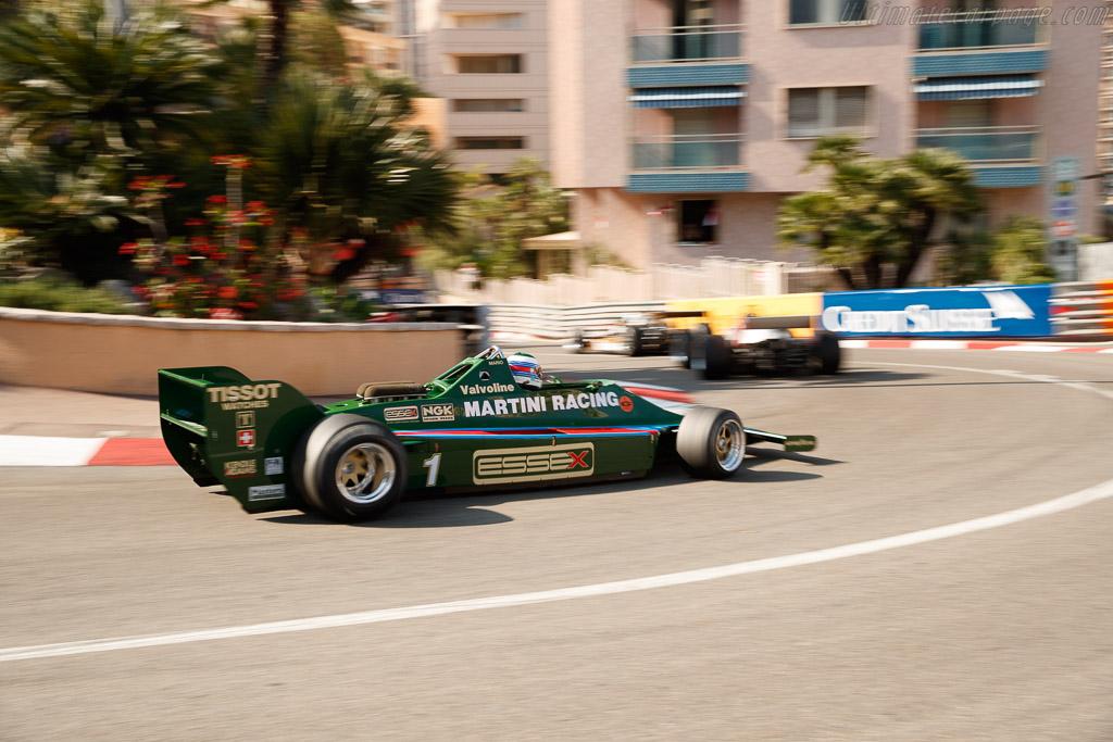 Lotus 80 - Chassis: 80/1 - Driver: Manfredo Rossi di Montelera  - 2018 Monaco Historic Grand Prix