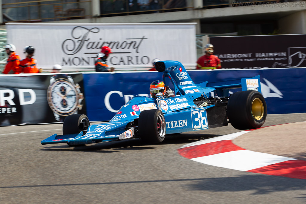 Maki F101C - Chassis: F101/02 - Entrant: GP Extreme - Driver: Jordan Grogor - 2018 Monaco Historic Grand Prix