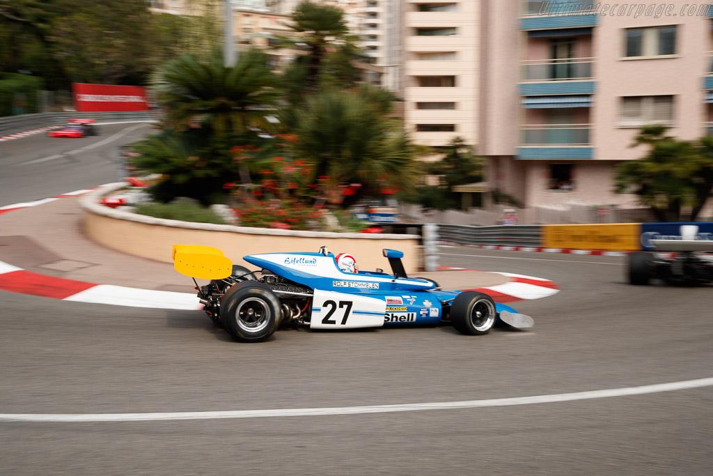 March 721 - Chassis: 721-4 - Driver: David Shaw  - 2018 Monaco Historic Grand Prix