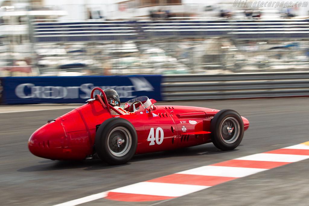 Maserati 250F - Chassis: 2522 - Driver: Christian Dumolin  - 2018 Monaco Historic Grand Prix