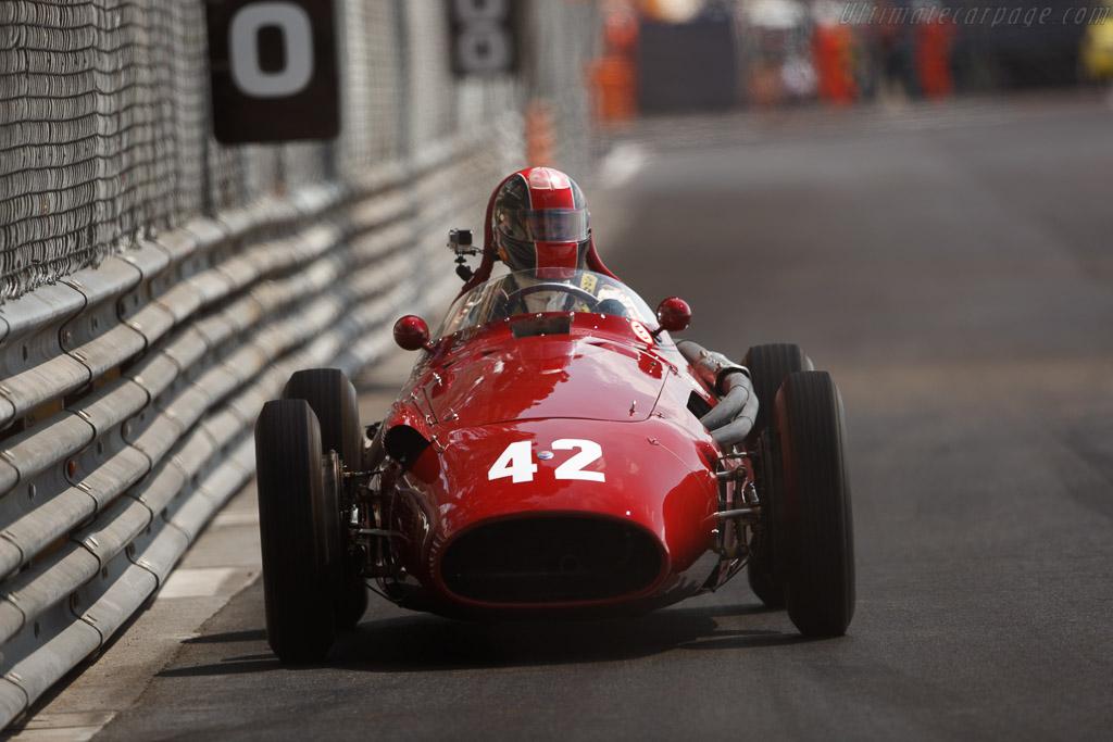 Maserati 250F - Chassis: 2523 - Driver: Guiliermo Fierro-Eleta  - 2018 Monaco Historic Grand Prix