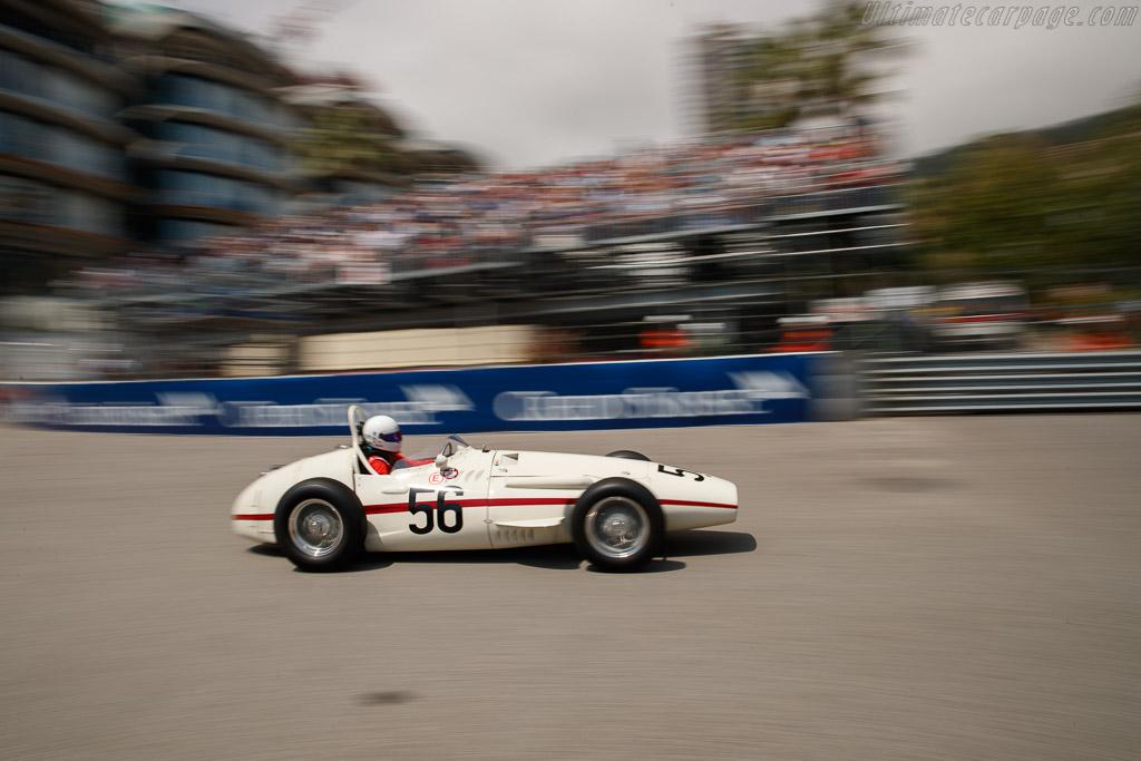 Maserati 250F - Chassis: 2521 - Entrant: Martin Halusa - Driver: Niklas Halusa  - 2018 Monaco Historic Grand Prix