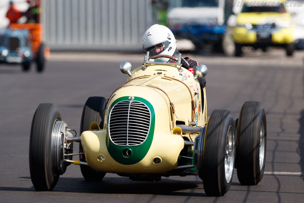 Maserati 6CM - Chassis: 1558 - Driver: Urs Muller  - 2018 Monaco Historic Grand Prix
