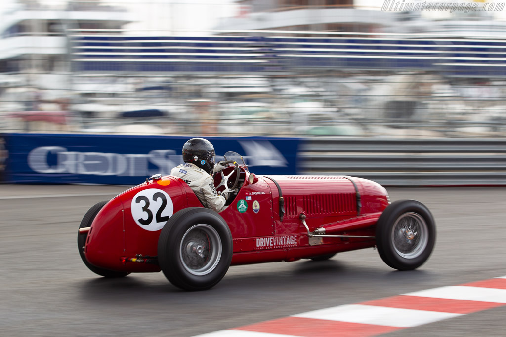 Maserati 6CM/4CM - Chassis: 1531 - Driver: Anthony Sinopoli  - 2018 Monaco Historic Grand Prix