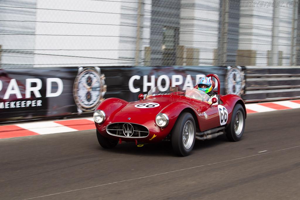 Maserati A6GCS - Chassis: 2084 - Driver: Jean-Jacques Bally  - 2018 Monaco Historic Grand Prix