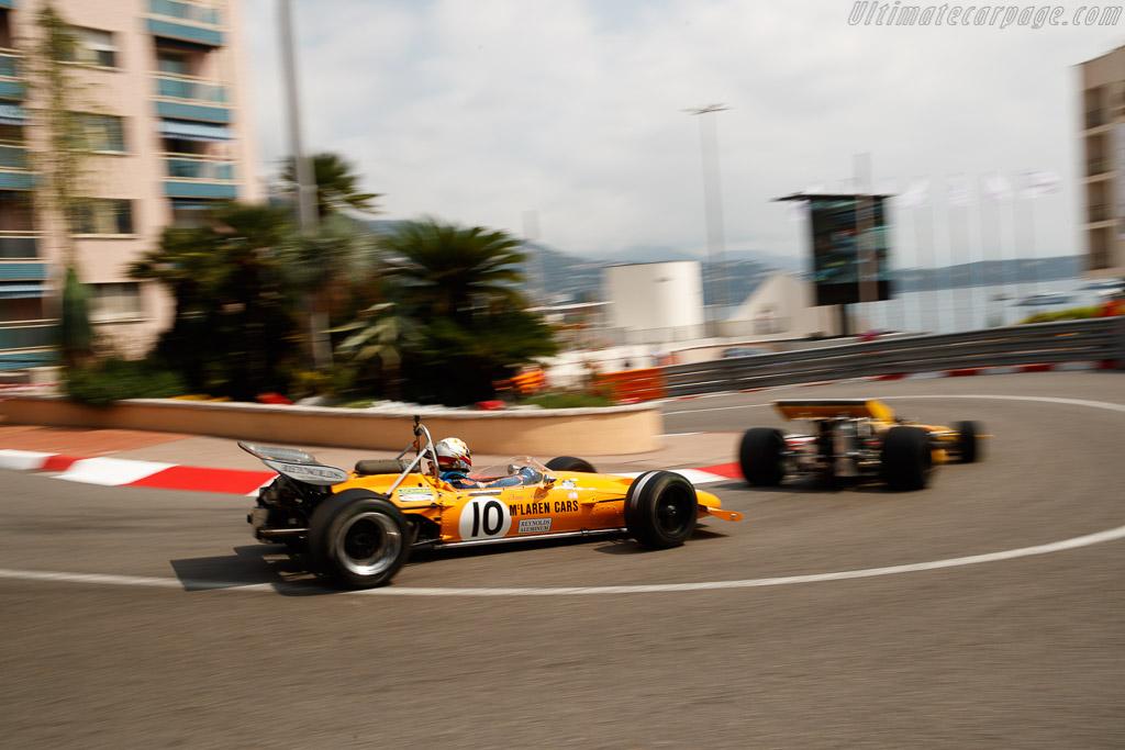 McLaren M14A - Chassis: M14A/2 - Entrant: Rofgo Racing - Driver: Clivio Piccione  - 2018 Monaco Historic Grand Prix