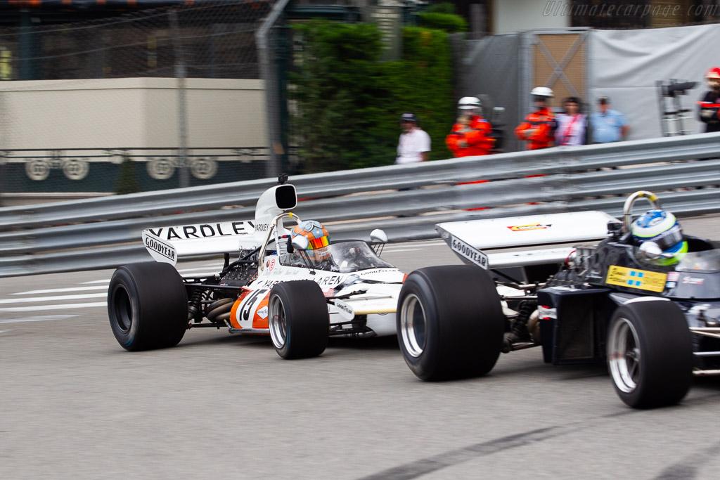 McLaren M19A - Chassis: M19A-2 - Entrant: Rofgo Racing - Driver: Stuart Hall  - 2018 Monaco Historic Grand Prix