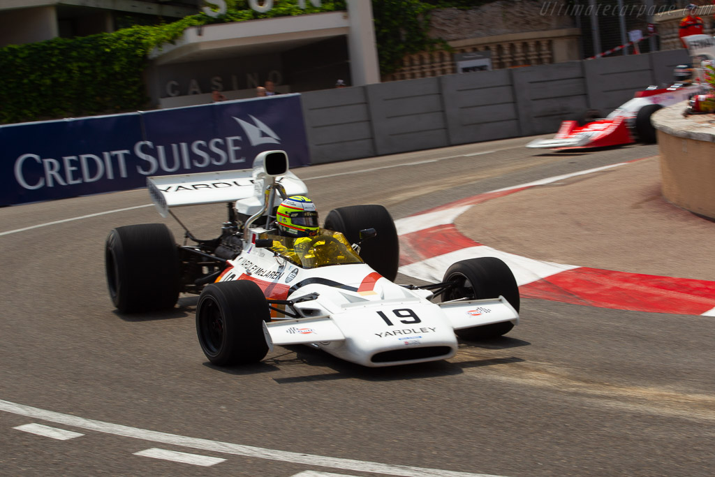 McLaren M19C - Chassis: M19C-2 - Entrant: CGA Race Engineering - Driver: Mark Blundell  - 2018 Monaco Historic Grand Prix