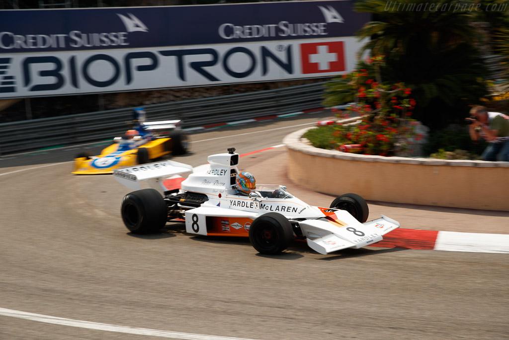 McLaren M23 - Chassis: M23-4 - Entrant: Rofgo Racing - Driver: Stuart Hall - 2018 Monaco Historic Grand Prix