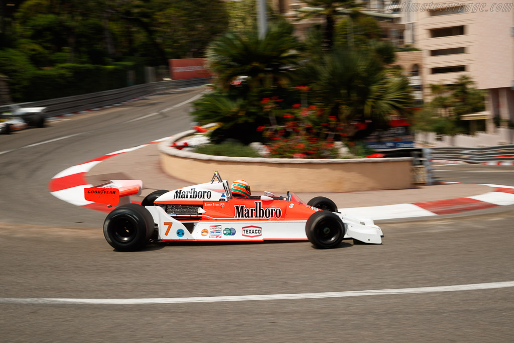 McLaren M26 - Chassis: M26-4 - Driver: Eddie Irvine  - 2018 Monaco Historic Grand Prix