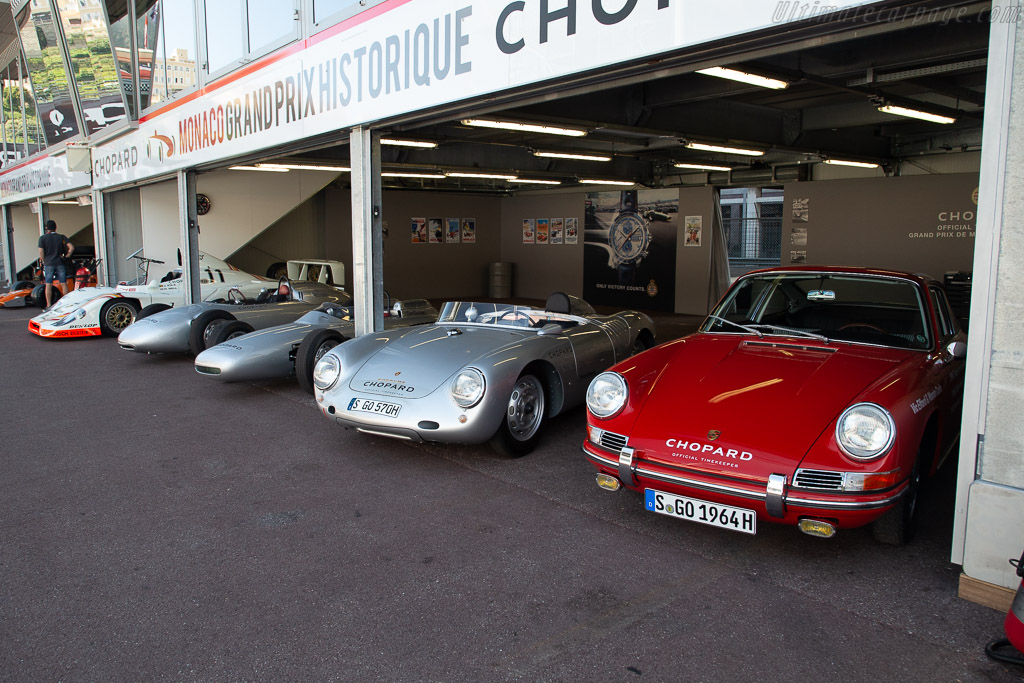 Porsche at 70    - 2018 Monaco Historic Grand Prix