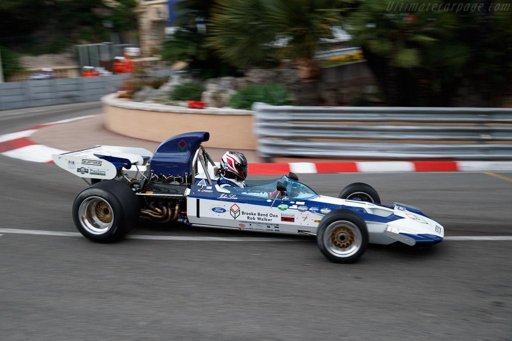 Surtees TS9 - Chassis: TS9-003 - Entrant: Judith Lyons - Driver: Michael Lyons  - 2018 Monaco Historic Grand Prix