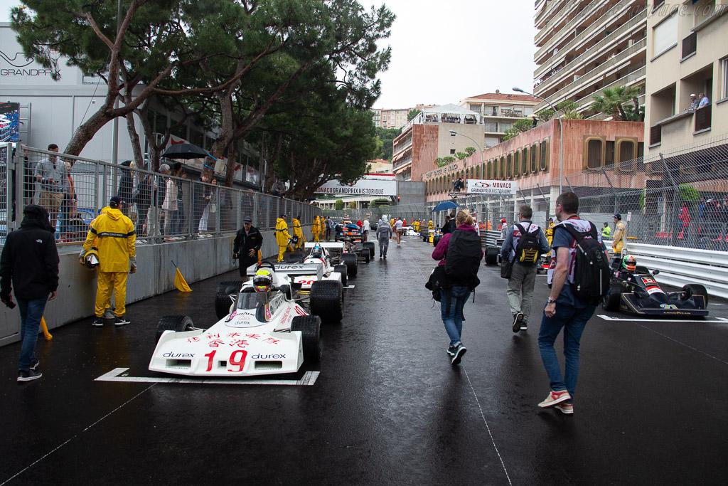 The Grid    - 2018 Monaco Historic Grand Prix