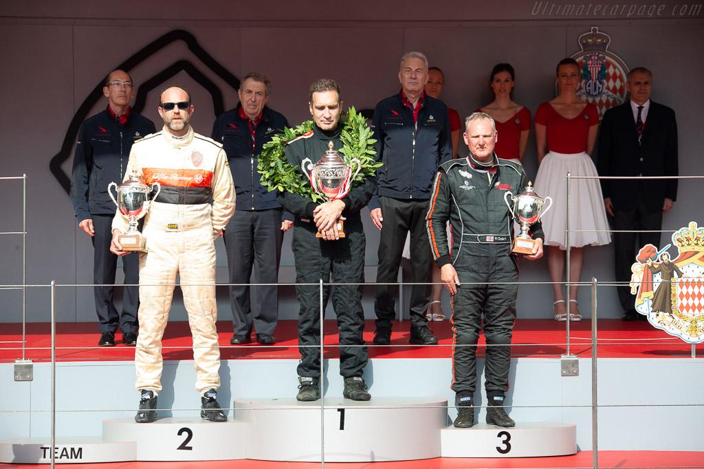 The Podium    - 2018 Monaco Historic Grand Prix