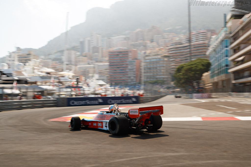 Tyrrell 007 - Chassis: 007/4 - Entrant: Rofgo Racing - Driver: Roald Goethe  - 2018 Monaco Historic Grand Prix