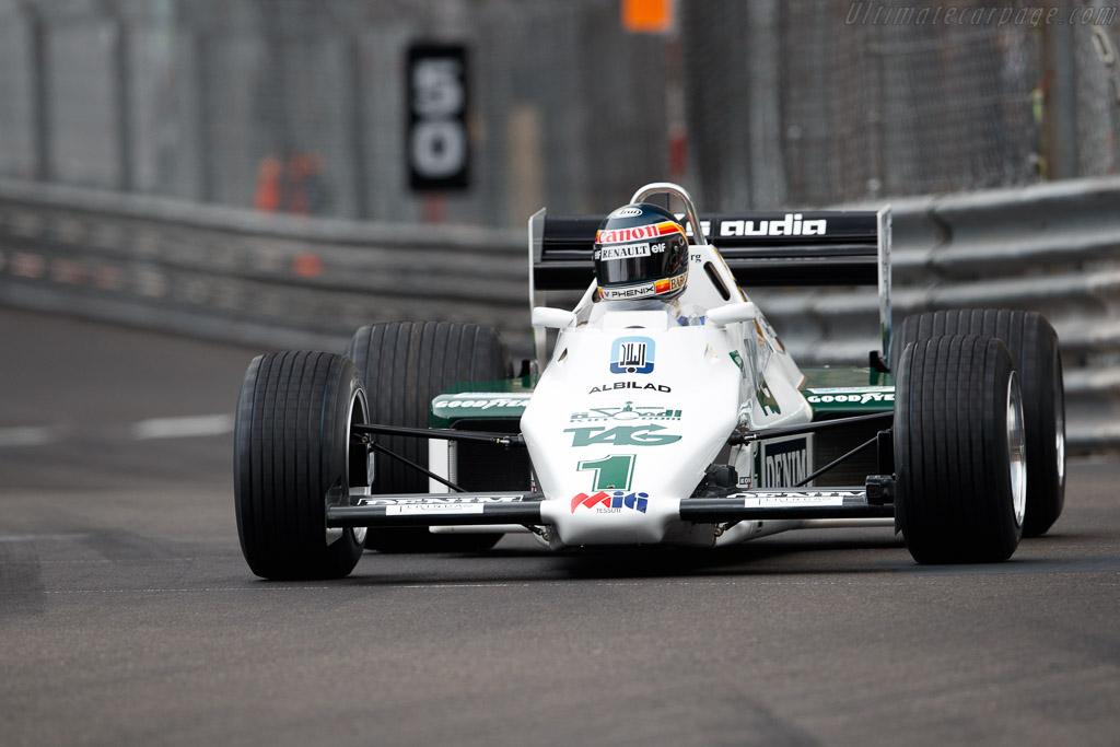 Williams FW08C  - Entrant: Williams Heritage - Driver: Thierry Boutsen  - 2018 Monaco Historic Grand Prix