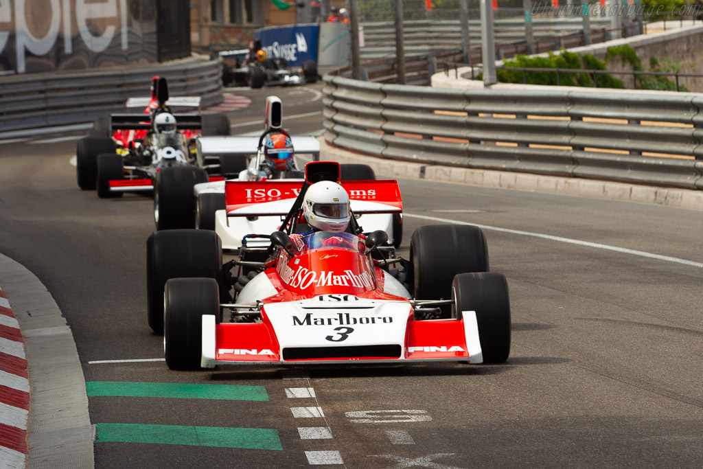 Williams FX3B - Chassis: FX3/2 - Driver: Danny Rollinger  - 2018 Monaco Historic Grand Prix