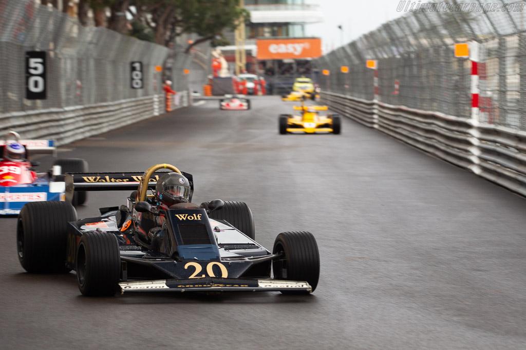 Wolf WR6 - Chassis: WR6 - Driver: Douglas Mockett  - 2018 Monaco Historic Grand Prix