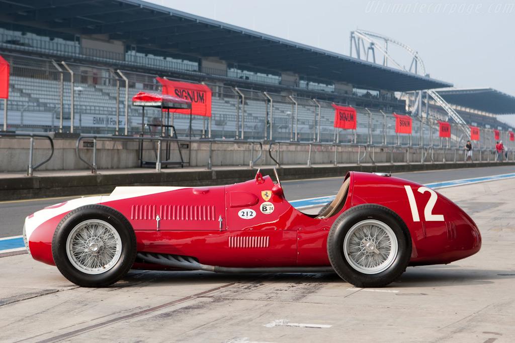 Ferrari 212 F1 Chassis 102 2009 Modena Trackdays