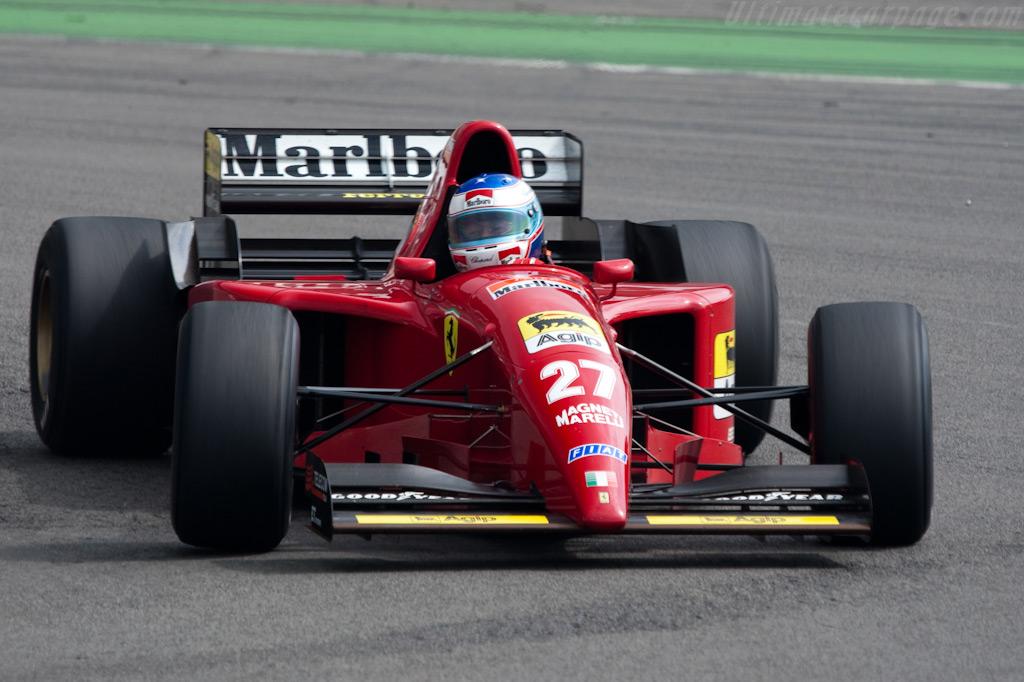 Ferrari 412 T2    - 2009 Modena Trackdays