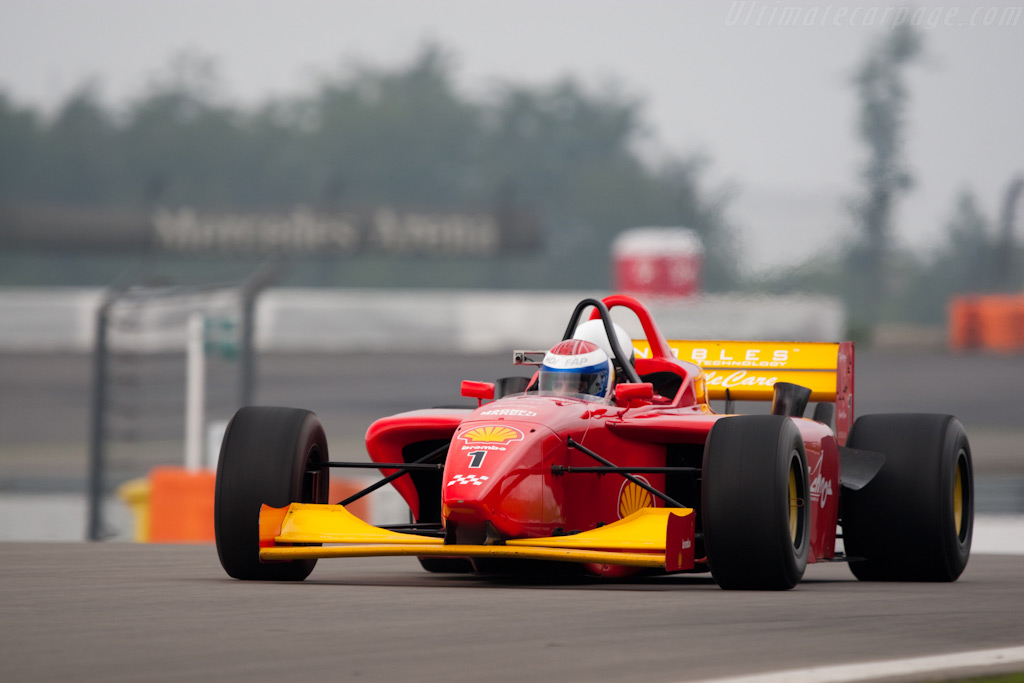 Marc Gene piloting the two-seater    - 2009 Modena Trackdays