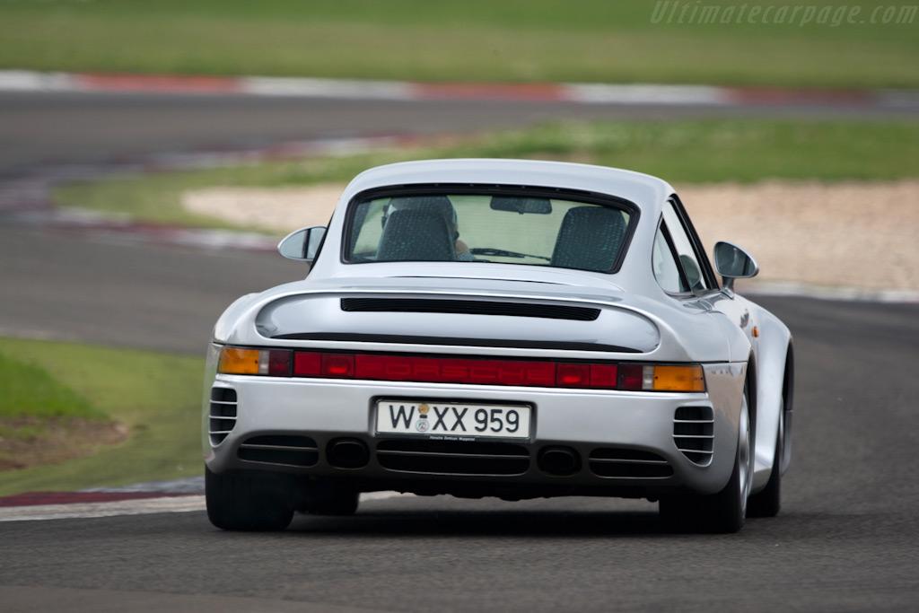 Porsche 959    - 2009 Modena Trackdays