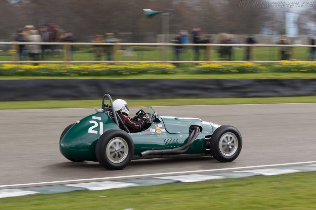 Alta F2  - Entrant: Anthony Helliwell - Driver: Ian Nuthall  - 2018 Goodwood Members' Meeting