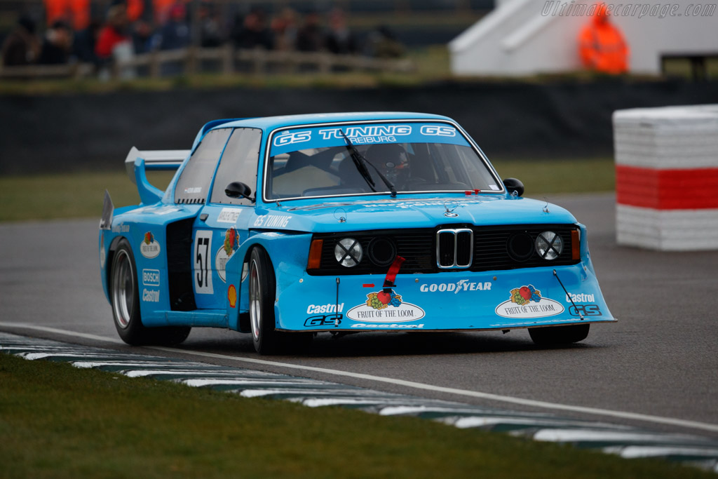 BMW 320 Group 5 - Chassis: E21-R1-08 - Entrant: Christian Manner - Driver: Kevin Abbring  - 2018 Goodwood Members' Meeting
