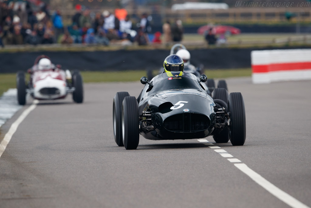 BRM Type 25  - Entrant: Robs Lamplough - Driver: Ben Mitchell  - 2018 Goodwood Members' Meeting
