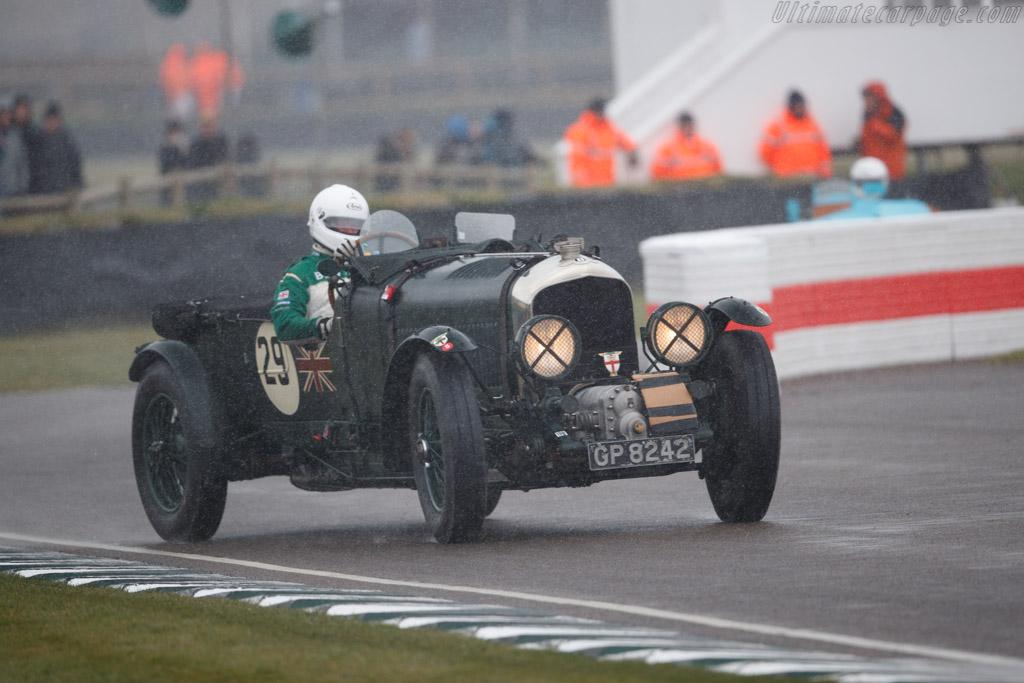 Bentley 4½-Litre Blower  - Driver: Martin Overington  - 2018 Goodwood Members' Meeting