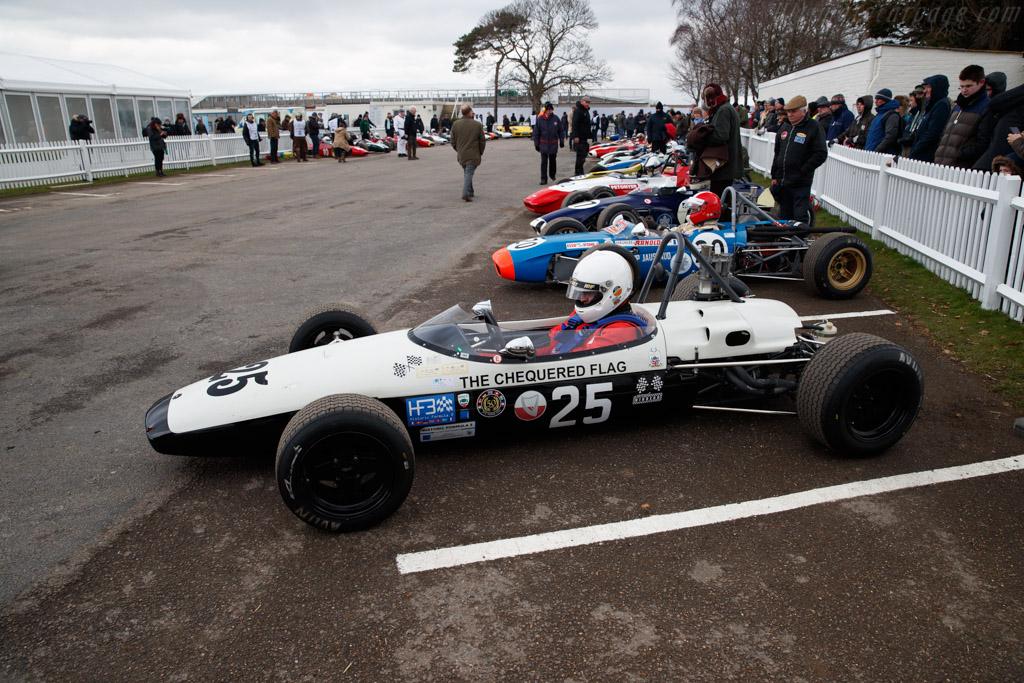 Brabham BT18 Ford  - Entrant: Michael Hibberd - Driver: Andrew Hibberd  - 2018 Goodwood Members' Meeting