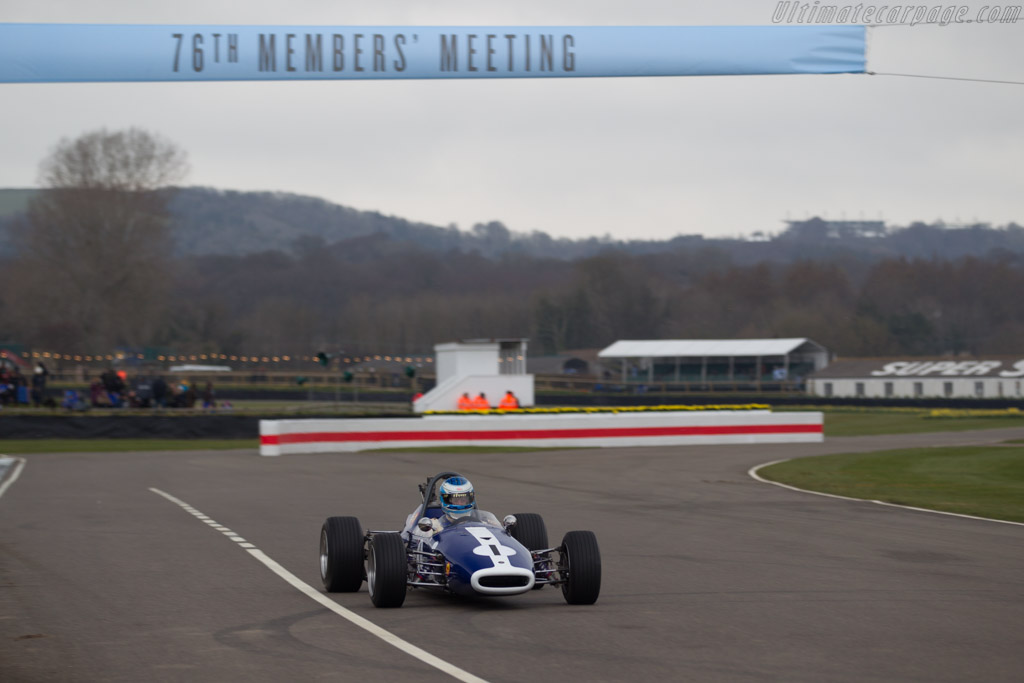 Brabham BT21 Ford  - Driver: John Milicevic  - 2018 Goodwood Members' Meeting