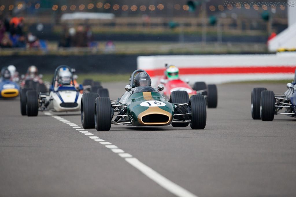 Brabham BT28 Ford  - Driver: Robs Lamplough  - 2018 Goodwood Members' Meeting