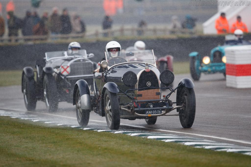 Bugatti Type 43  - Driver: Lucas Slijpen  - 2018 Goodwood Members' Meeting
