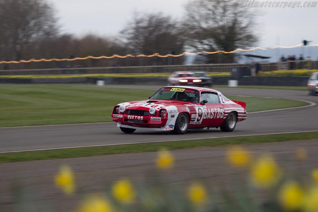 Chevrolet Camaro Z28  - Entrant: David Clark - Driver: David Clark / Matt Neal  - 2018 Goodwood Members' Meeting
