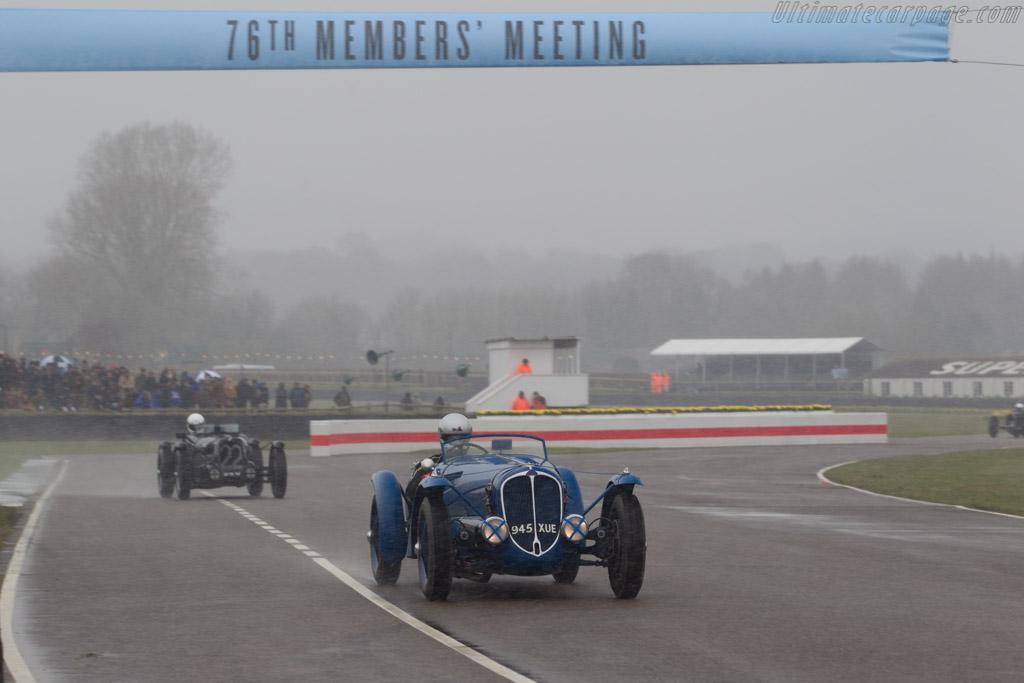 Delahaye 135S  - Driver: Vincent Tourneur  - 2018 Goodwood Members' Meeting
