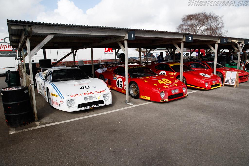Ferrari 512 BBLM - Chassis: 35525 - Entrant: Christian Bouriez  - 2018 Goodwood Members' Meeting