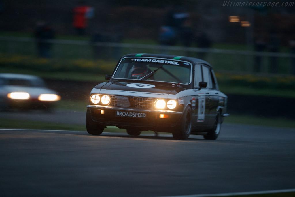 Ford Capri III 3.0S  - Entrant: Ludovic Lindsay - Driver: Ludovic Lindsay / Jochen Mass  - 2018 Goodwood Members' Meeting
