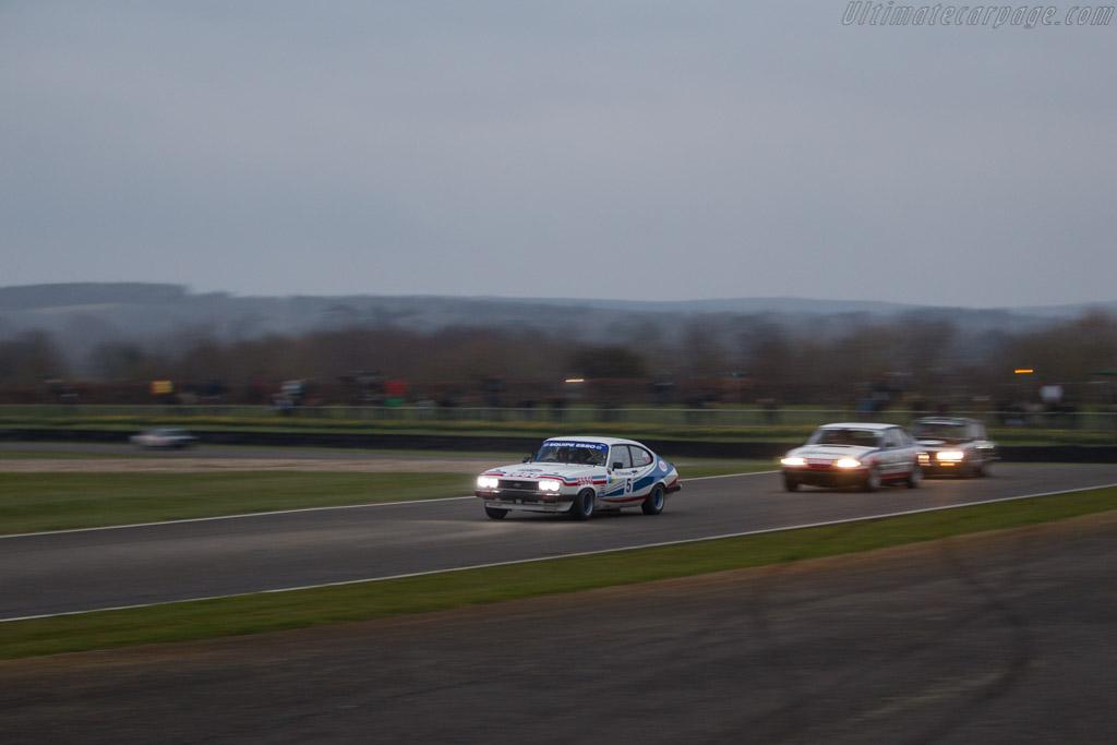 Ford Capri III 3.0S  - Entrant: Mark Fowler - Driver: Mark Fowler / Emanuele Pirro  - 2018 Goodwood Members' Meeting