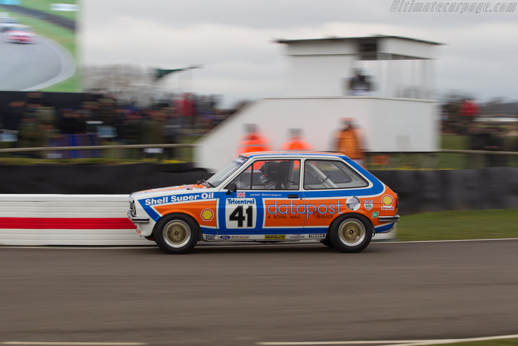 Ford Fiesta  - Entrant: Philip Jose - Driver: Tom Burgess / Andy Priaulx  - 2018 Goodwood Members' Meeting