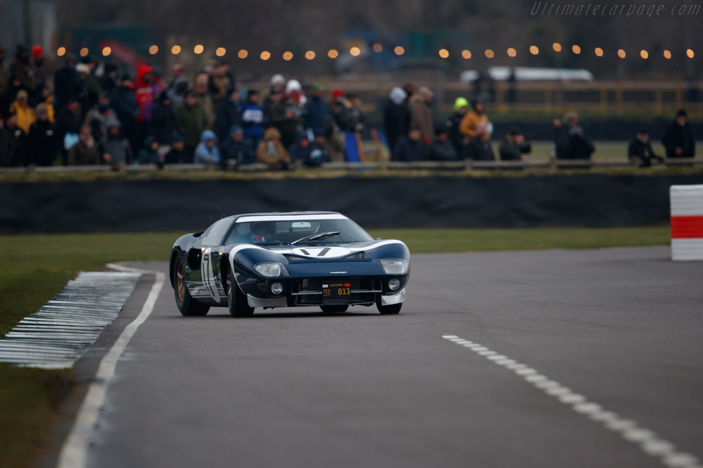 Ford GT40  - Entrant: Roald Goethe - Driver: Stuart Hall  - 2018 Goodwood Members' Meeting