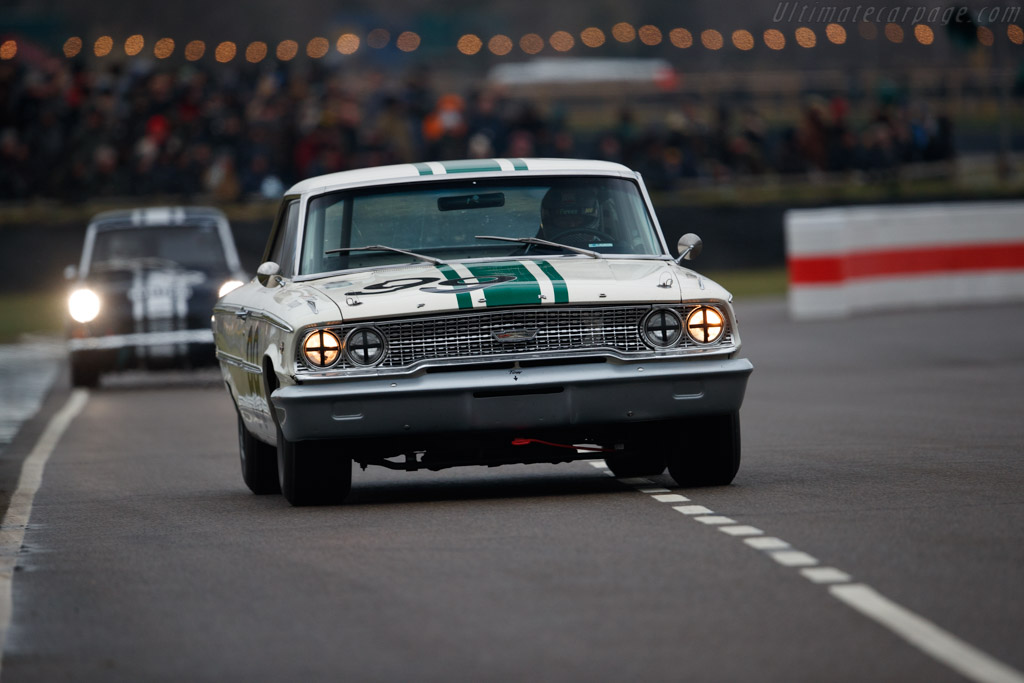 Ford Galaxie 500  - Driver: Bill Shepherd  - 2018 Goodwood Members' Meeting