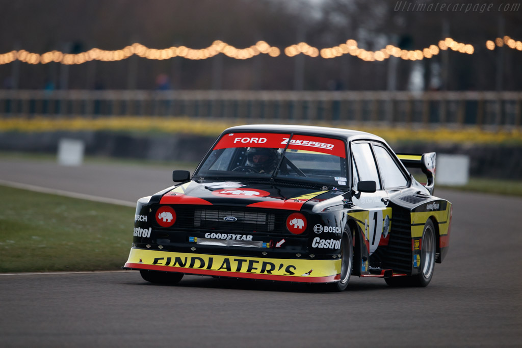 Ford Zakspeed Escort  - Entrant: Lance Vogel - Driver: Paolo Piazza Musso  - 2018 Goodwood Members' Meeting