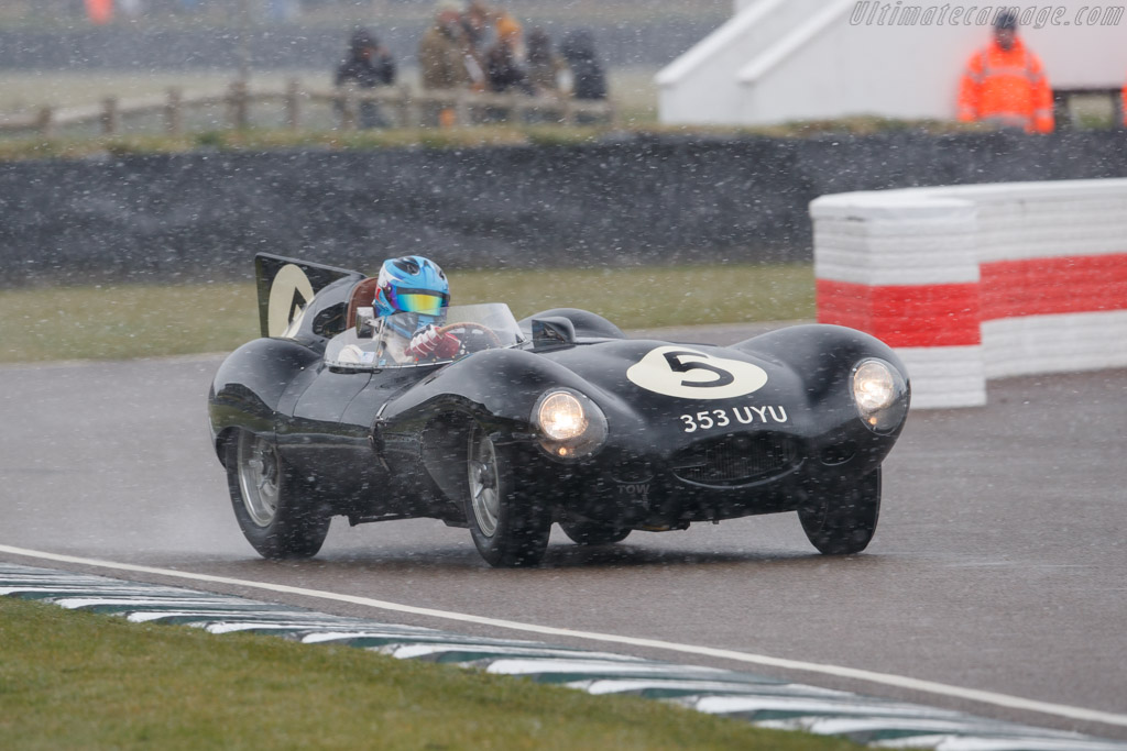 Jaguar D-Type - Chassis: XKD 526 - Driver: Christophe d'Ansembourg - 2018 Goodwood Members' Meeting