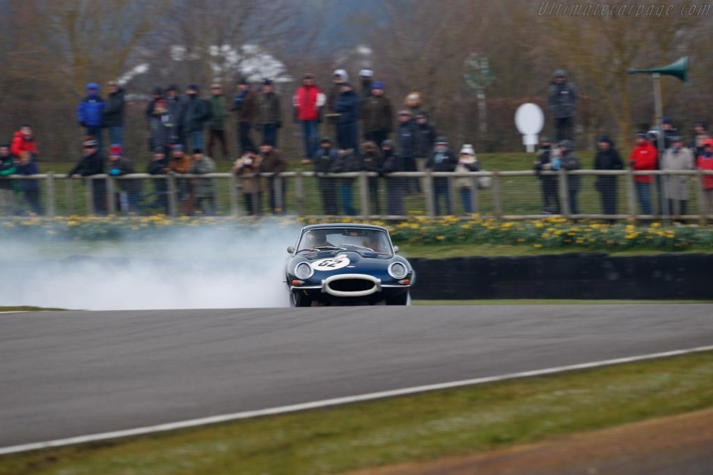 Jaguar E-Type  - Entrant: Michael Tuke - Driver: David Cooke / Sam Thomas  - 2018 Goodwood Members' Meeting