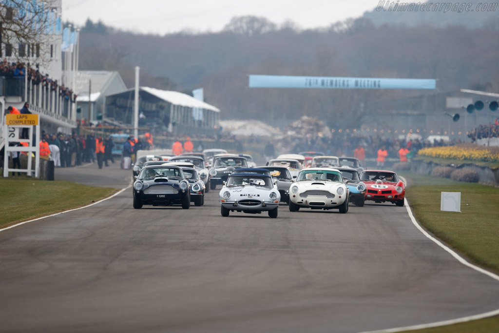 Jaguar E-Type  - Entrant: Jon Minshaw - Driver: Jon Minshaw / Phil Keen  - 2018 Goodwood Members' Meeting
