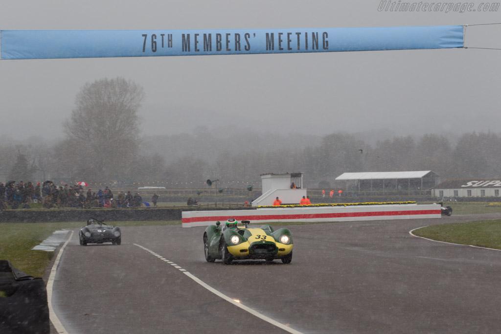 Lister Knobbly Jaguar  - Driver: Jon Minshaw  - 2018 Goodwood Members' Meeting