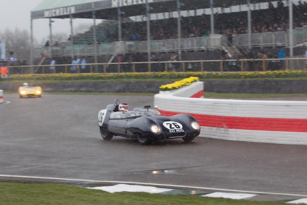Lotus 15 Climax - Chassis: 615 - Entrant: Quirina Louwman - Driver: James Wood  - 2018 Goodwood Members' Meeting