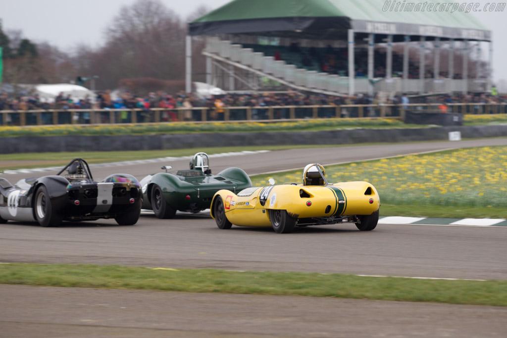 Lotus 23B Ford  - Driver: Michael Gans  - 2018 Goodwood Members' Meeting