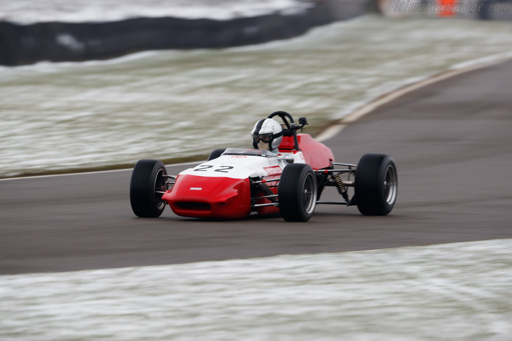 March 703 Ford  - Driver: Simon Armer  - 2018 Goodwood Members' Meeting